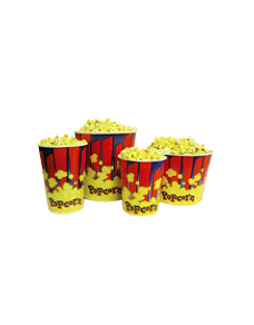 Popcorn Cups and Tubs